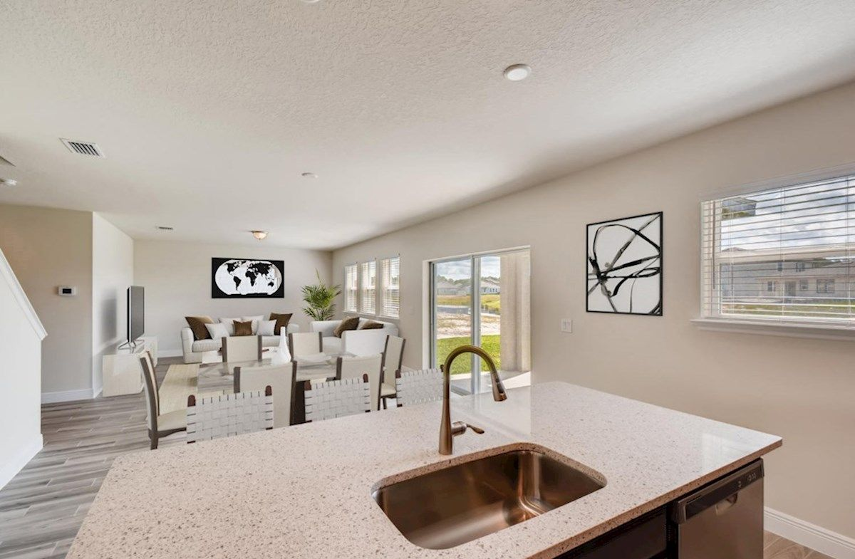 Living Area featured in the Pursuit By Beazer Homes in Tampa-St. Petersburg, FL