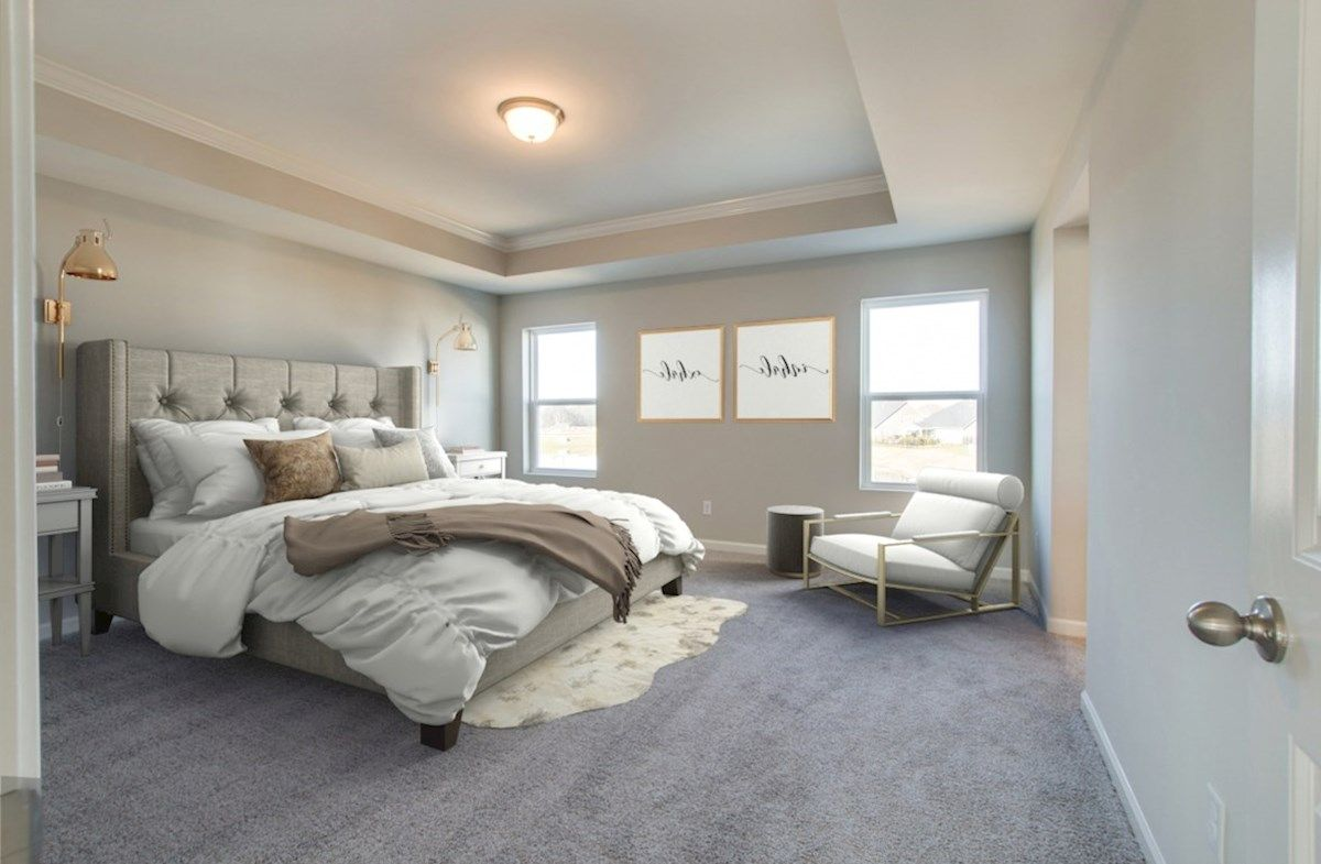 Bedroom featured in the Ashford By Beazer Homes in Nashville, TN
