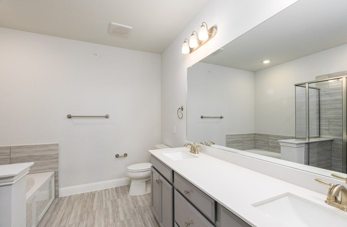 Bathroom featured in the Dorset By Beazer Homes in Dallas, TX