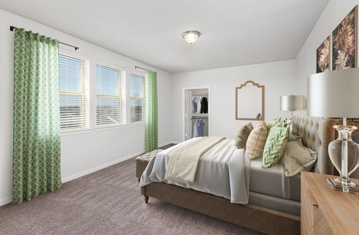 Bedroom featured in the Wiltshire By Beazer Homes in Dallas, TX