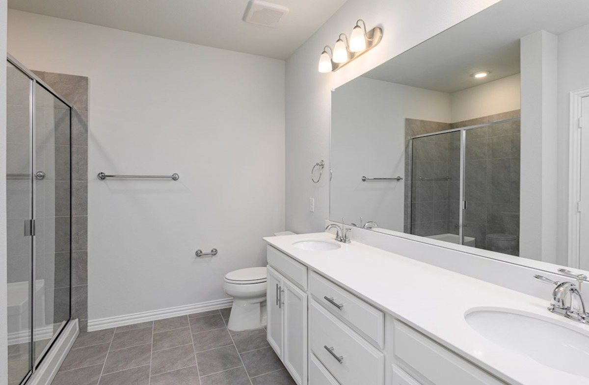 Bathroom featured in the Wiltshire By Beazer Homes in Dallas, TX
