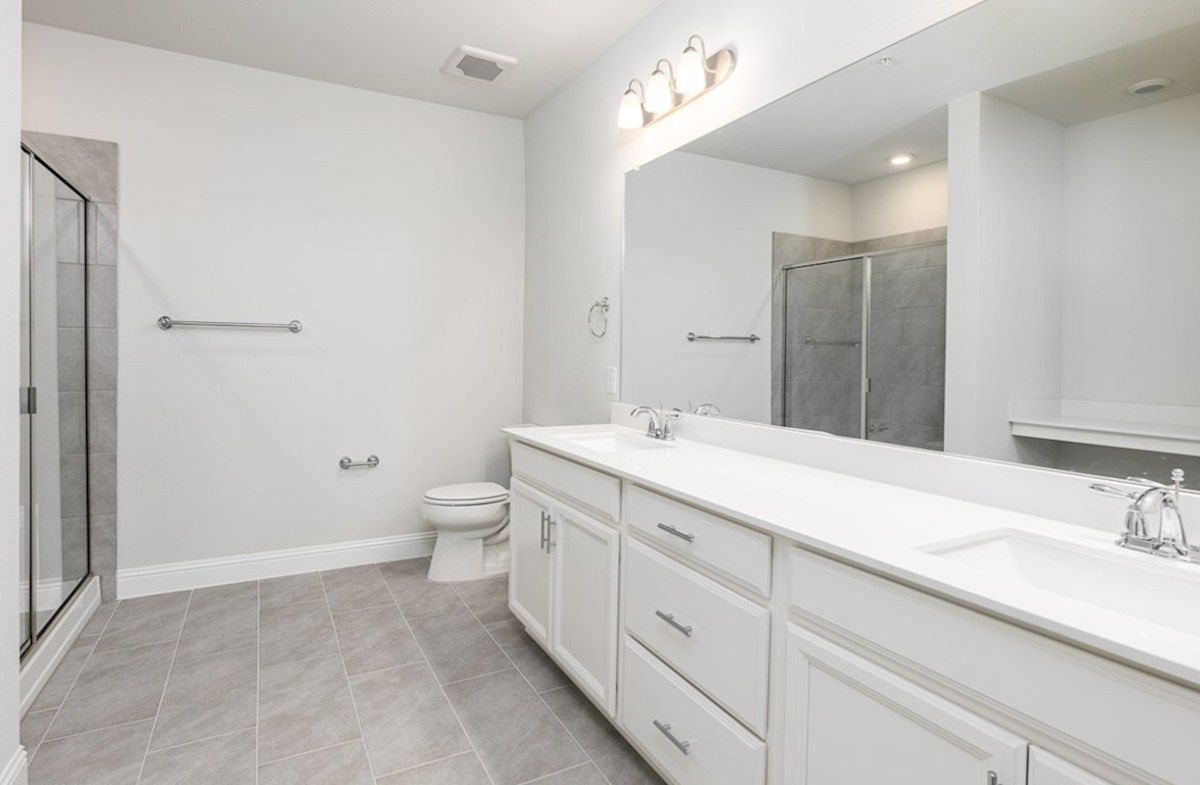 Bathroom featured in the Clifton By Beazer Homes in Dallas, TX