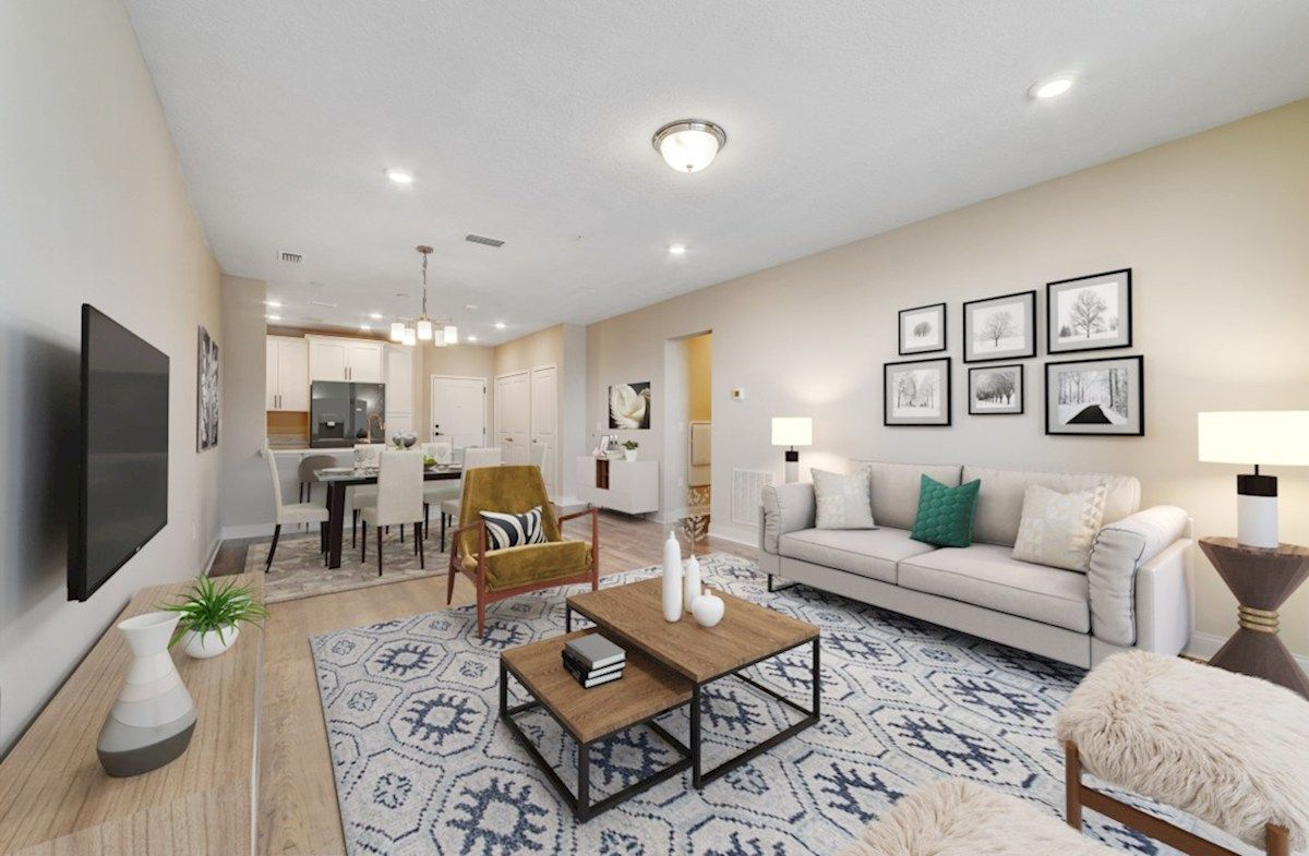 Living Area featured in the Aspen By Beazer Homes in Orlando, FL