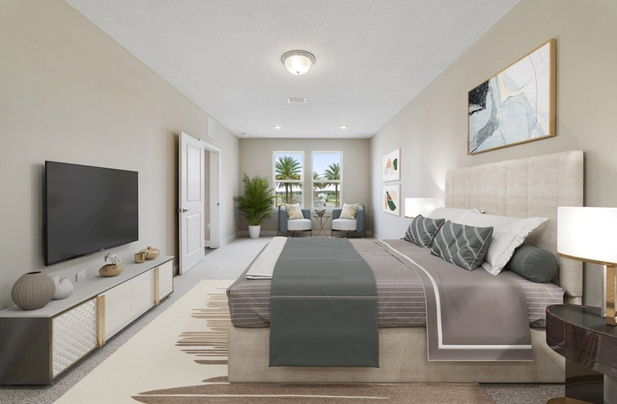 Bedroom featured in the Aspen By Beazer Homes in Orlando, FL