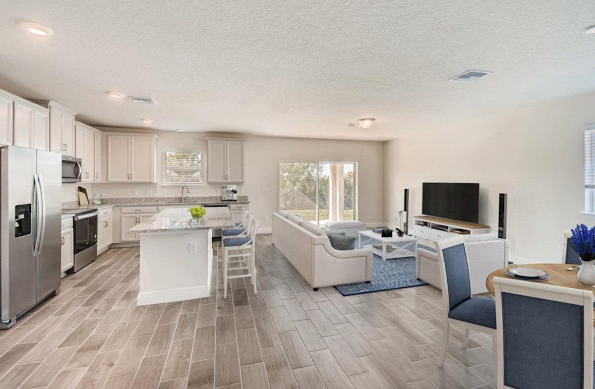 Living Area featured in the Voyager By Beazer Homes in Tampa-St. Petersburg, FL
