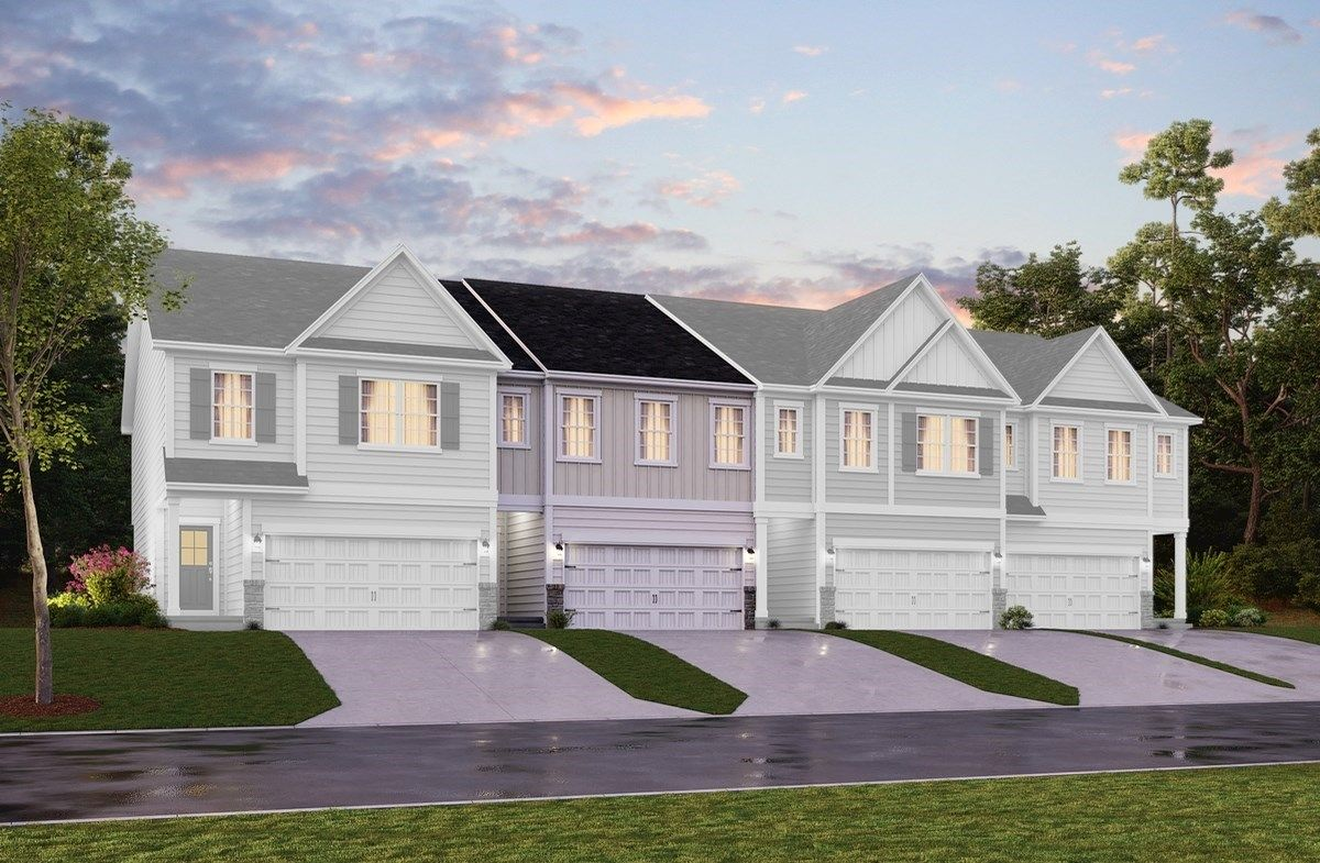 Exterior featured in the Waverly II By Beazer Homes in Raleigh-Durham-Chapel Hill, NC