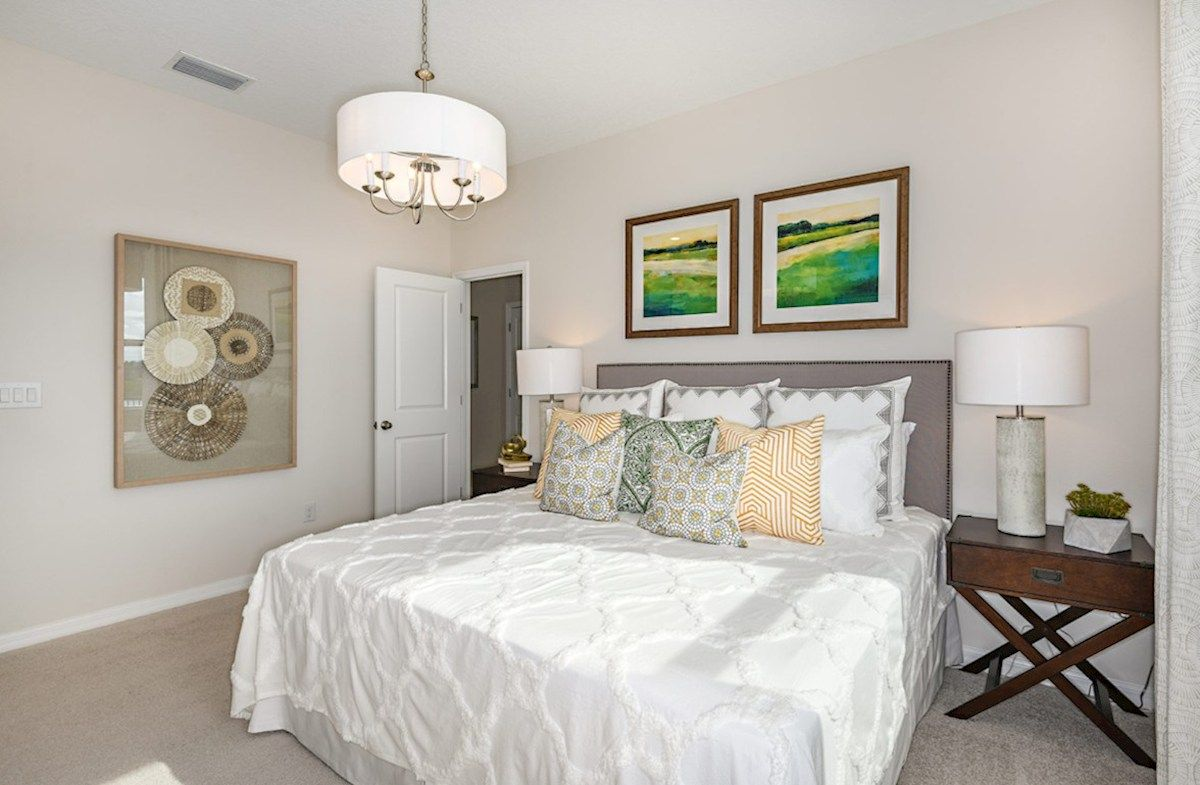 Bedroom featured in the Explorer By Beazer Homes in Tampa-St. Petersburg, FL