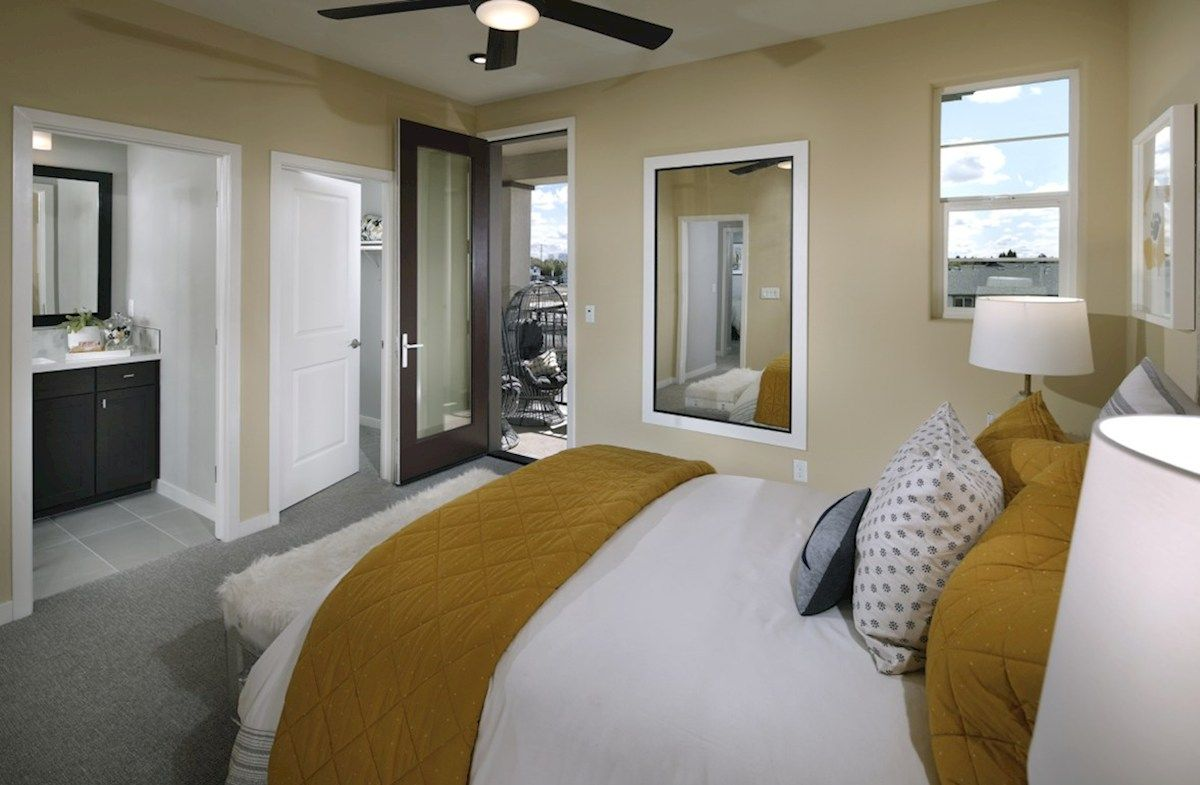 Bedroom featured in the Plan 3X By Beazer Homes in Sacramento, CA