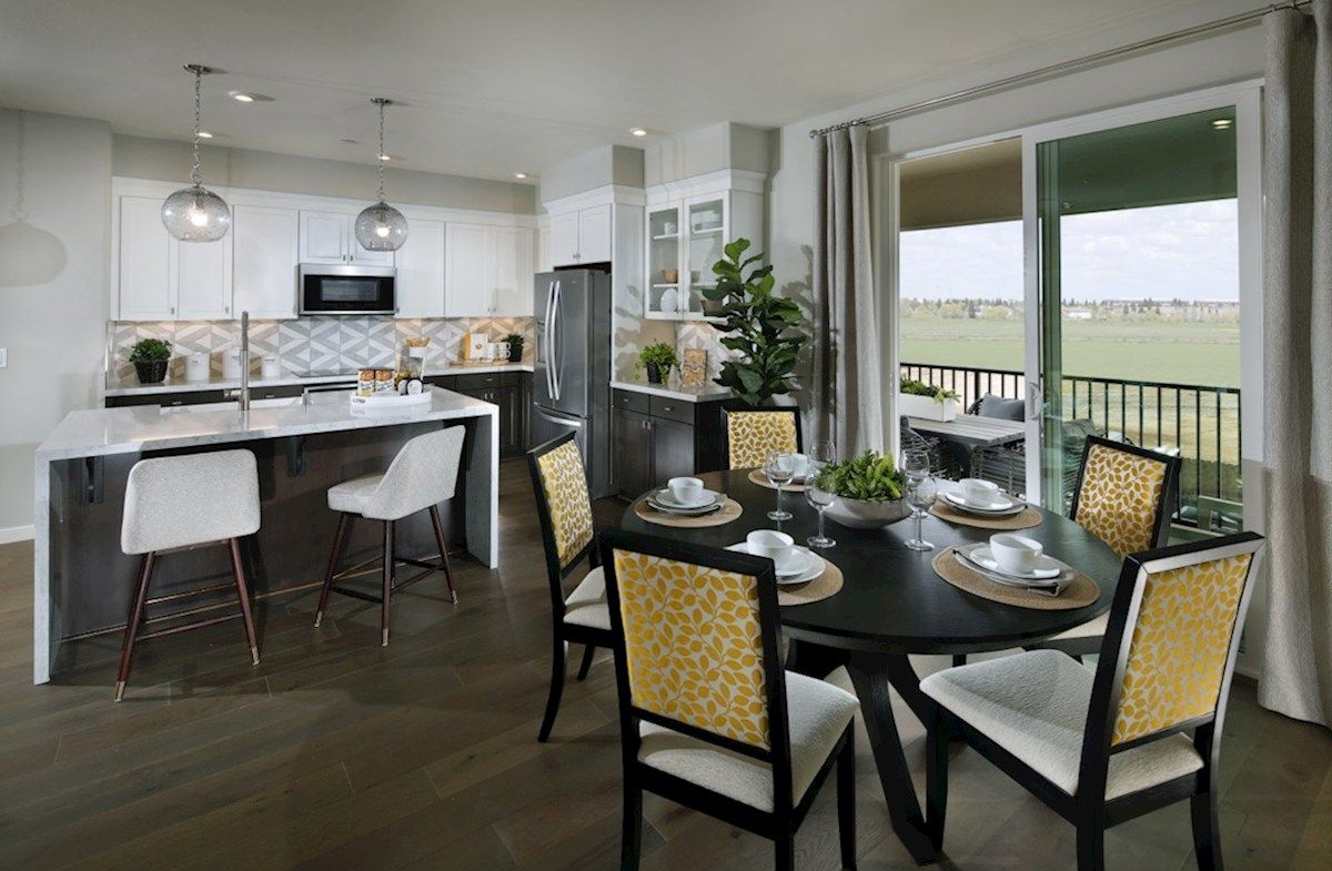Kitchen featured in the Plan 3X By Beazer Homes in Sacramento, CA