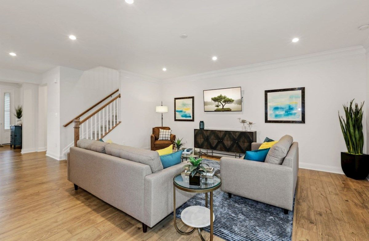 Living Area featured in the Georgetown By Beazer Homes in Sussex, DE
