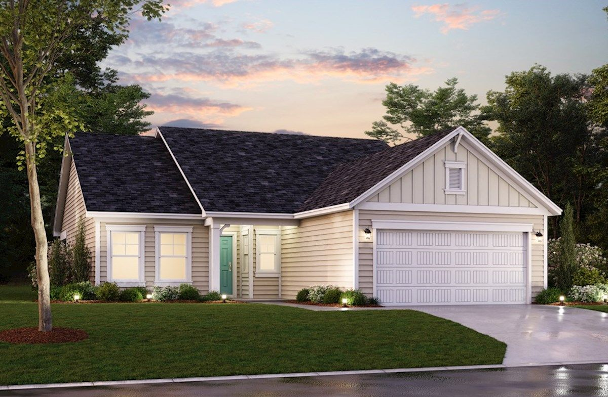 Exterior featured in the Camden By Beazer Homes in Myrtle Beach, SC