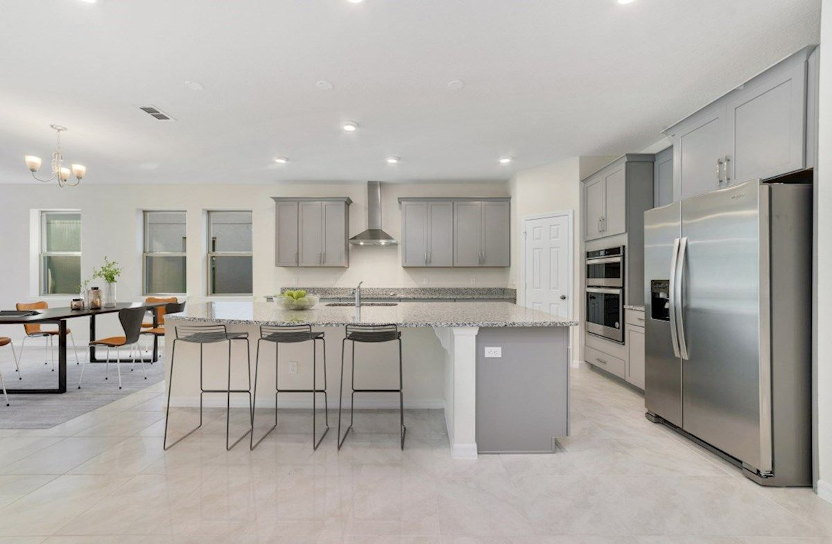 Kitchen featured in the Aspen By Beazer Homes in Orlando, FL