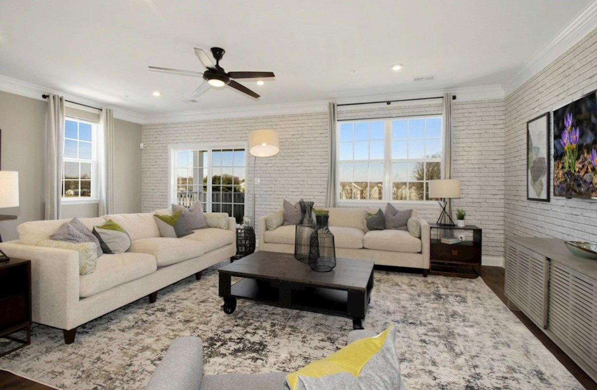 Living Area featured in the Taylor By Beazer Homes in Baltimore, MD