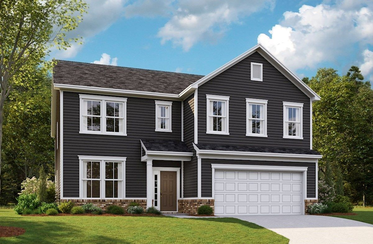 Exterior featured in the Washington By Beazer Homes in Indianapolis, IN