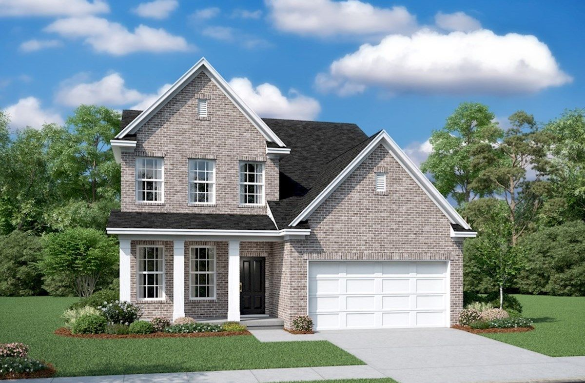 Exterior featured in the Adelaide By Beazer Homes in Nashville, TN