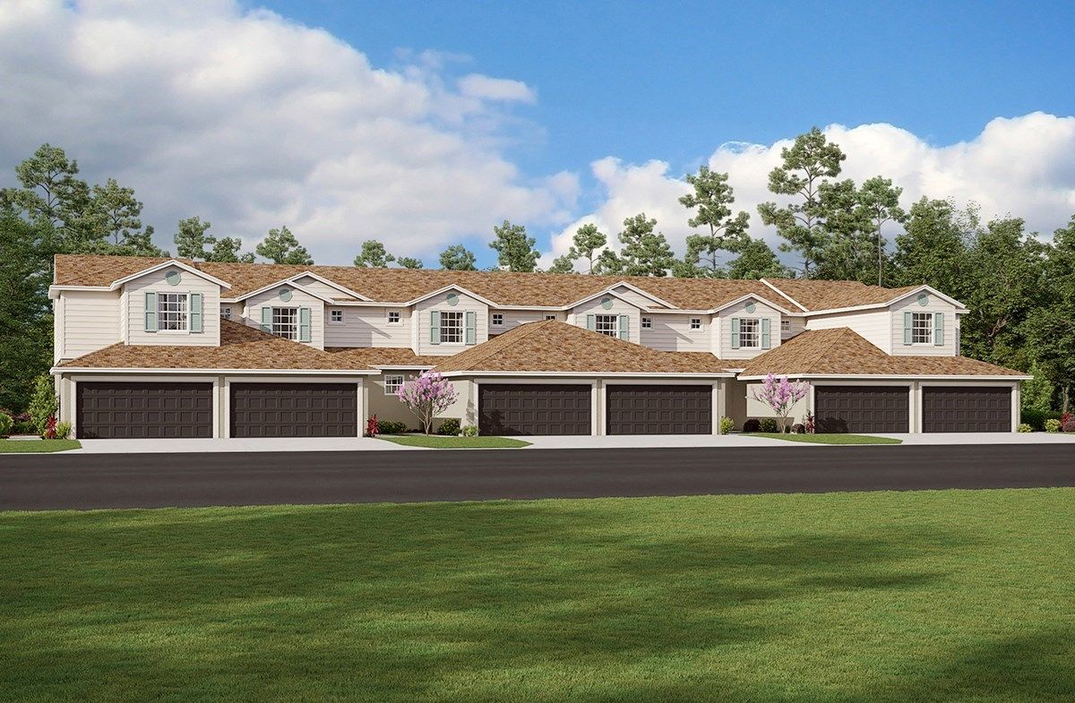 Exterior featured in the Skyway By Beazer Homes in Tampa-St. Petersburg, FL