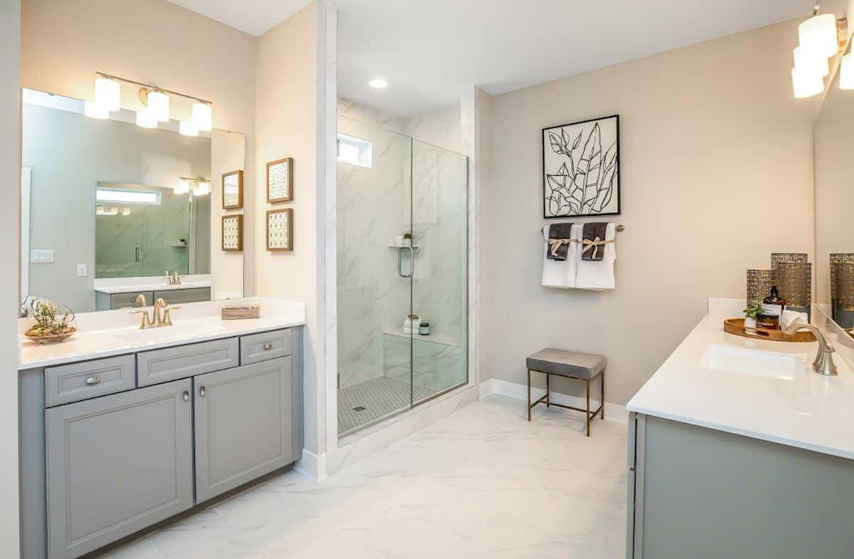Bathroom featured in the Charleston By Beazer Homes in Indianapolis, IN