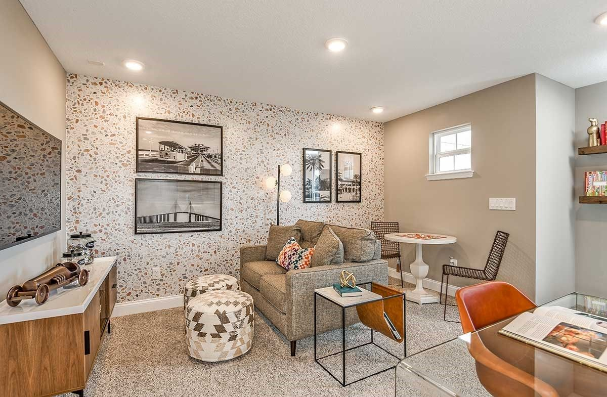 Living Area featured in the Skyway By Beazer Homes in Tampa-St. Petersburg, FL