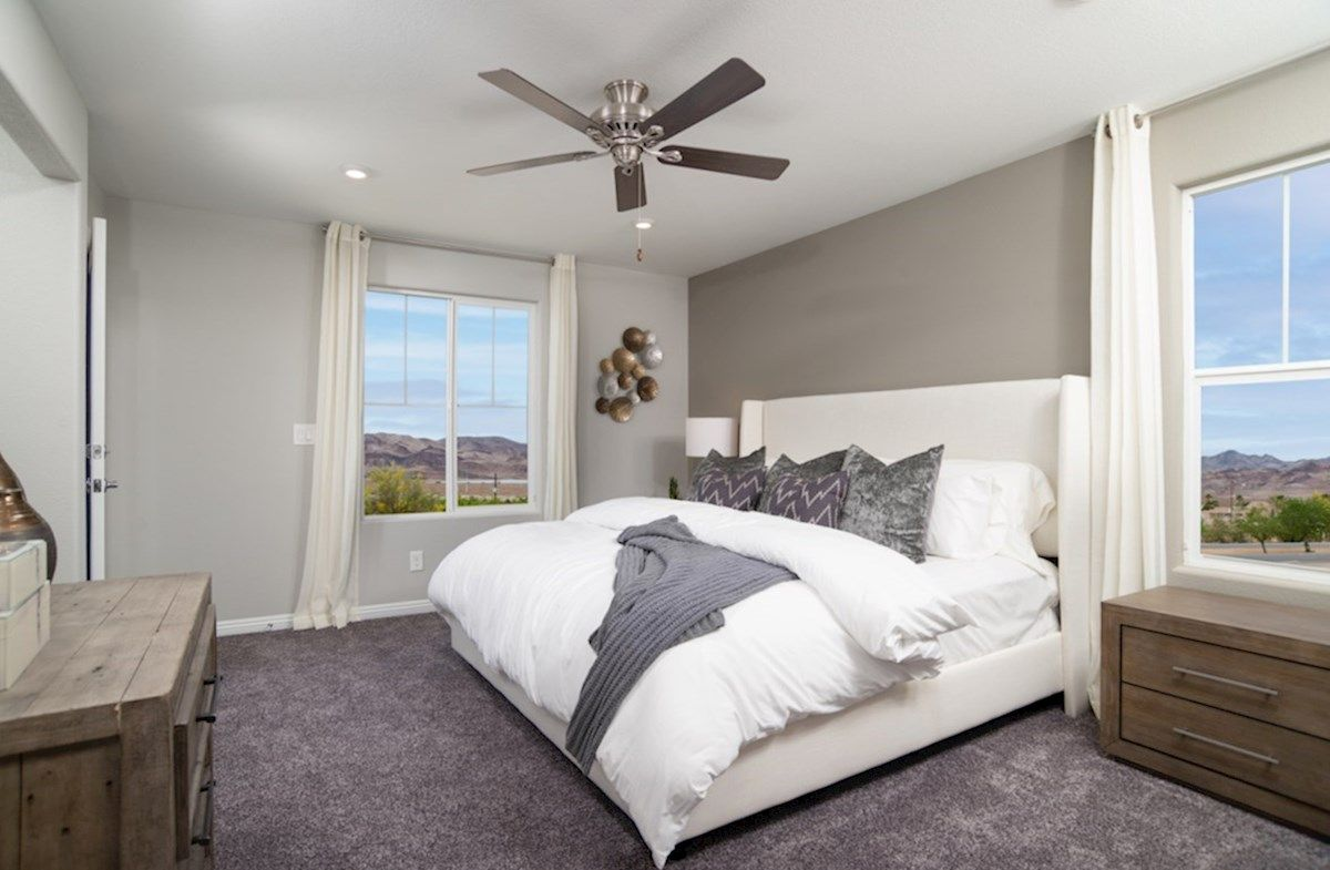 Bedroom featured in the Albany By Beazer Homes in Las Vegas, NV