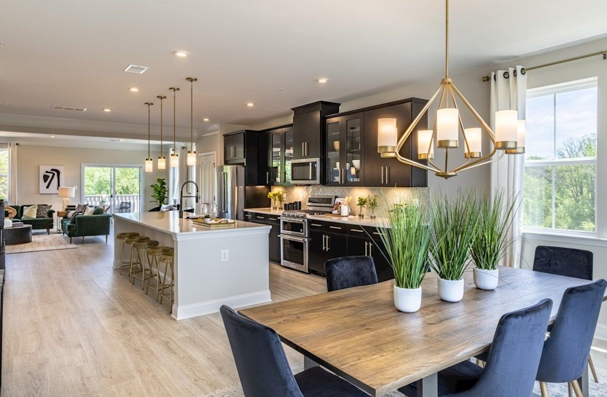 Kitchen featured in the Taylor By Beazer Homes in Baltimore, MD
