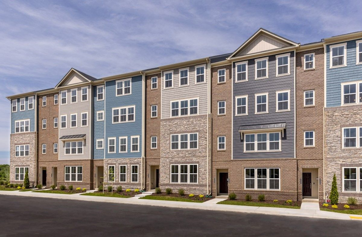 Exterior featured in the Riva By Beazer Homes in Baltimore, MD