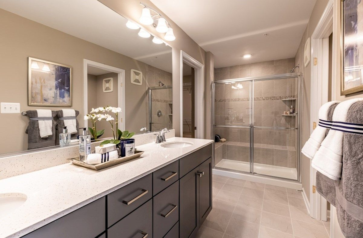Bathroom featured in the Riva By Beazer Homes in Baltimore, MD