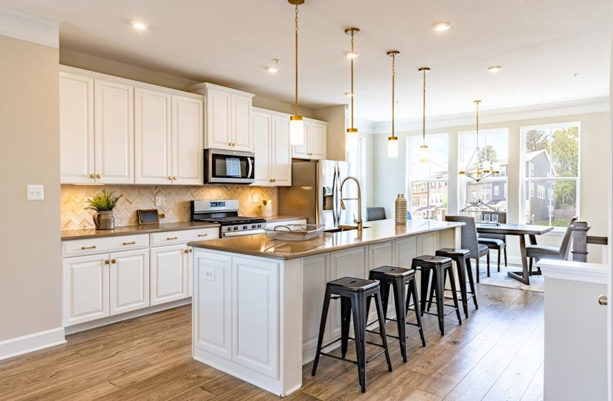 Kitchen featured in the St. Michael (Ext.) By Beazer Homes in Baltimore, MD