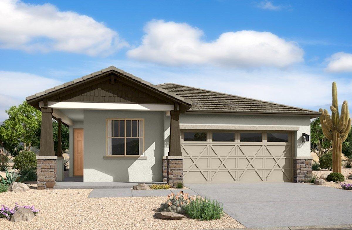 Exterior featured in the Pinehurst By Beazer Homes in Phoenix-Mesa, AZ