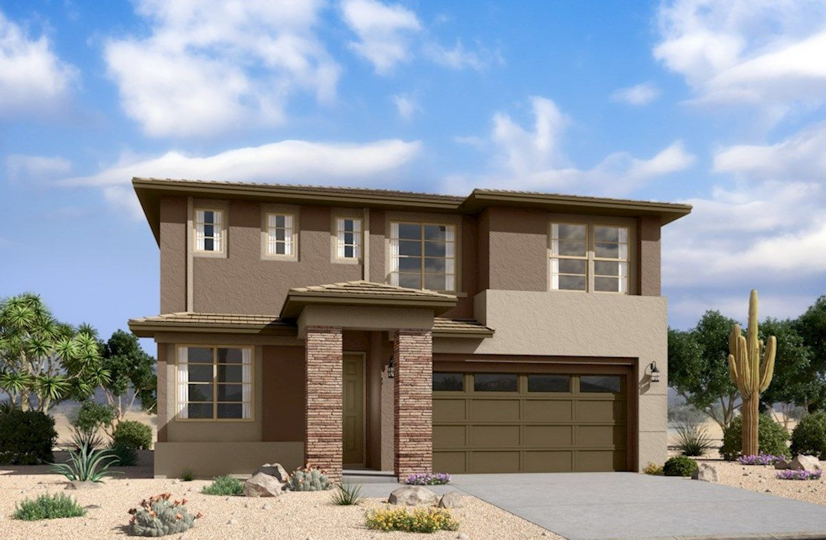 Exterior featured in the Arlington By Beazer Homes in Phoenix-Mesa, AZ