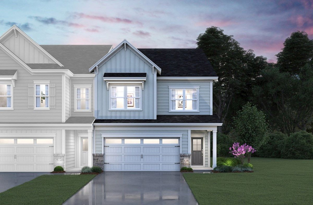 Exterior featured in the Maxwell By Beazer Homes in Raleigh-Durham-Chapel Hill, NC