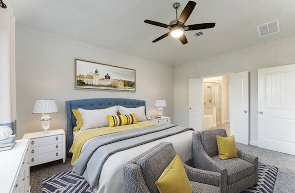 Bedroom featured in the Reflection By Beazer Homes in Houston, TX