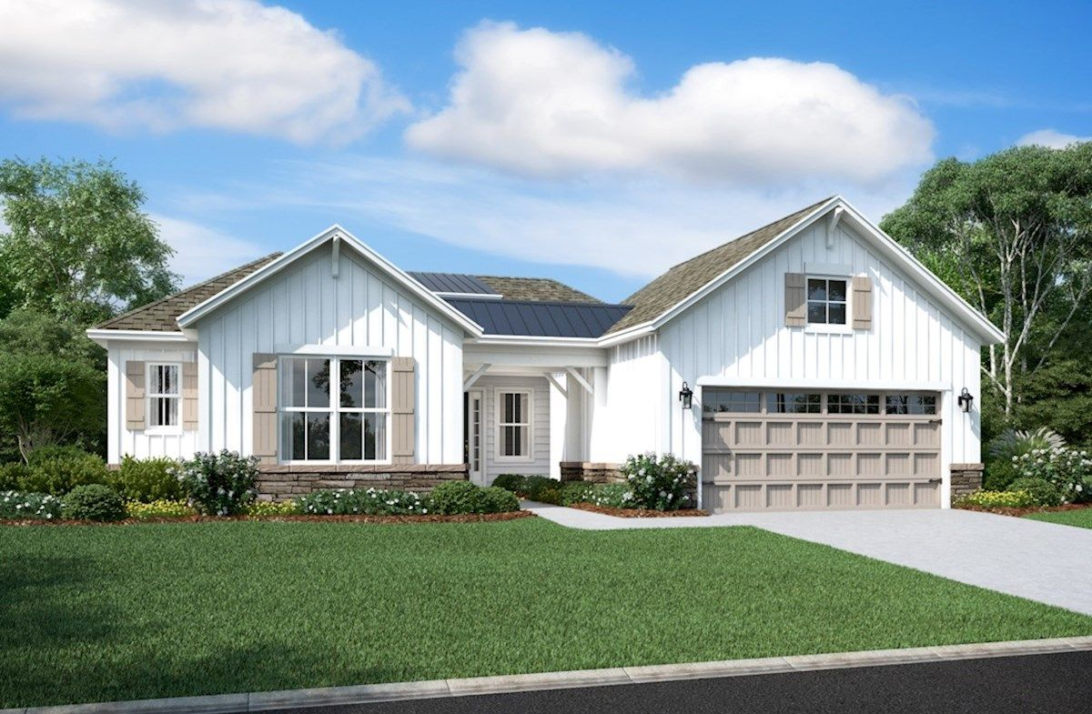 Exterior featured in the Wilmington By Beazer Homes in Sussex, DE