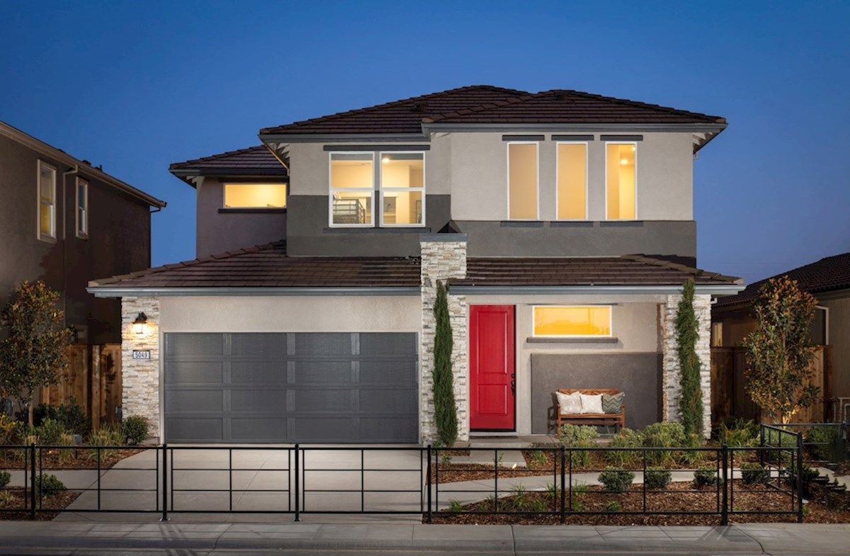 Exterior featured in the Plan 2 By Beazer Homes in Sacramento, CA