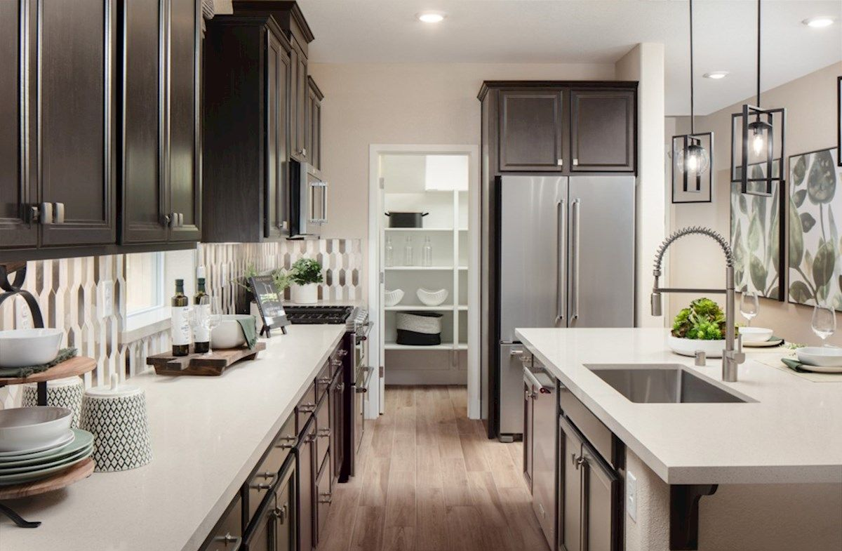 Kitchen featured in the Plan 2 By Beazer Homes in Sacramento, CA