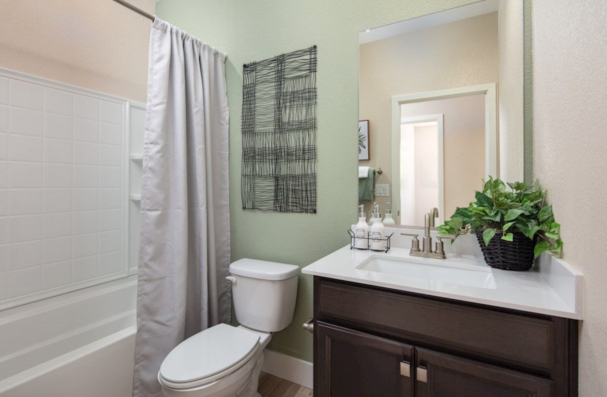 Bathroom featured in the Plan 2 By Beazer Homes in Sacramento, CA