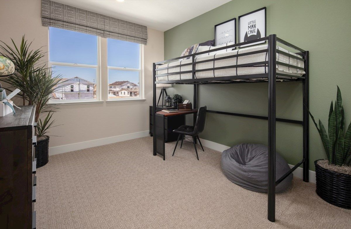 Bedroom featured in the Plan 2 By Beazer Homes in Sacramento, CA