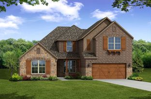 Kerrville - The Villages of Hurricane Creek: Garland, Texas - Beazer Homes