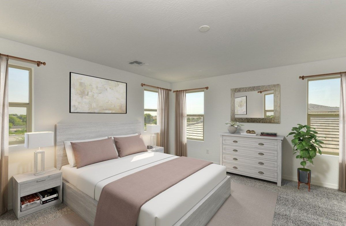 Bedroom featured in the Forsyth By Beazer Homes in Phoenix-Mesa, AZ