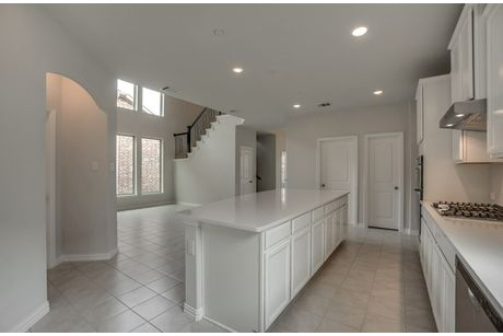 Kitchen-in-Hamilton-at-Valencia on the Lake-in-Little Elm