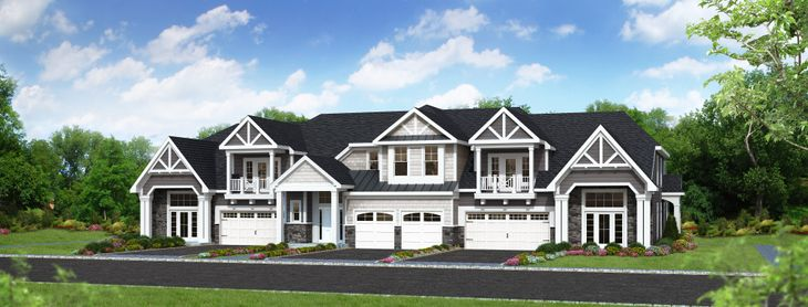 Townhome:Artist Rendering