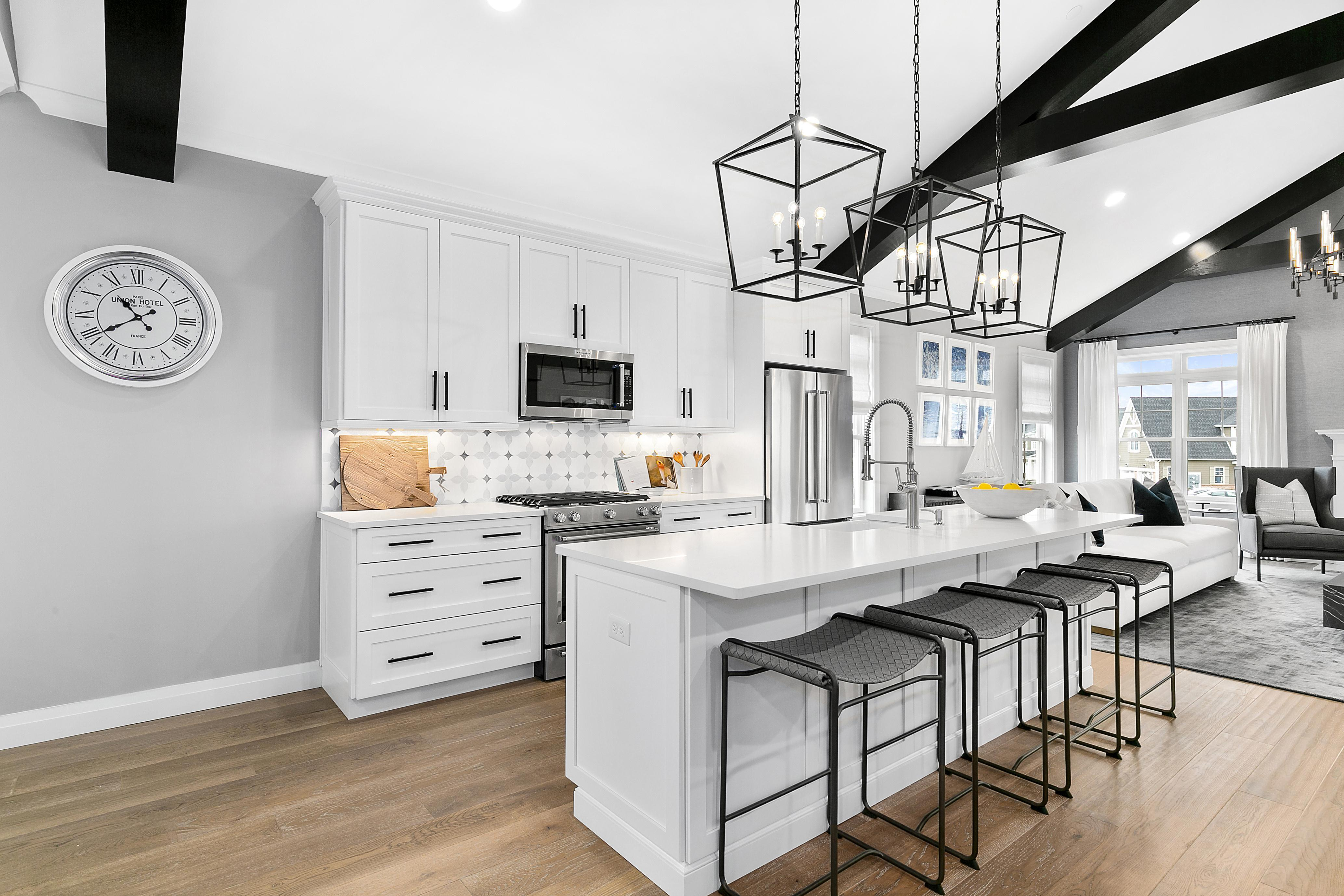 Kitchen featured in The Greenbrier By Beechwood Homes in Nassau-Suffolk, NY