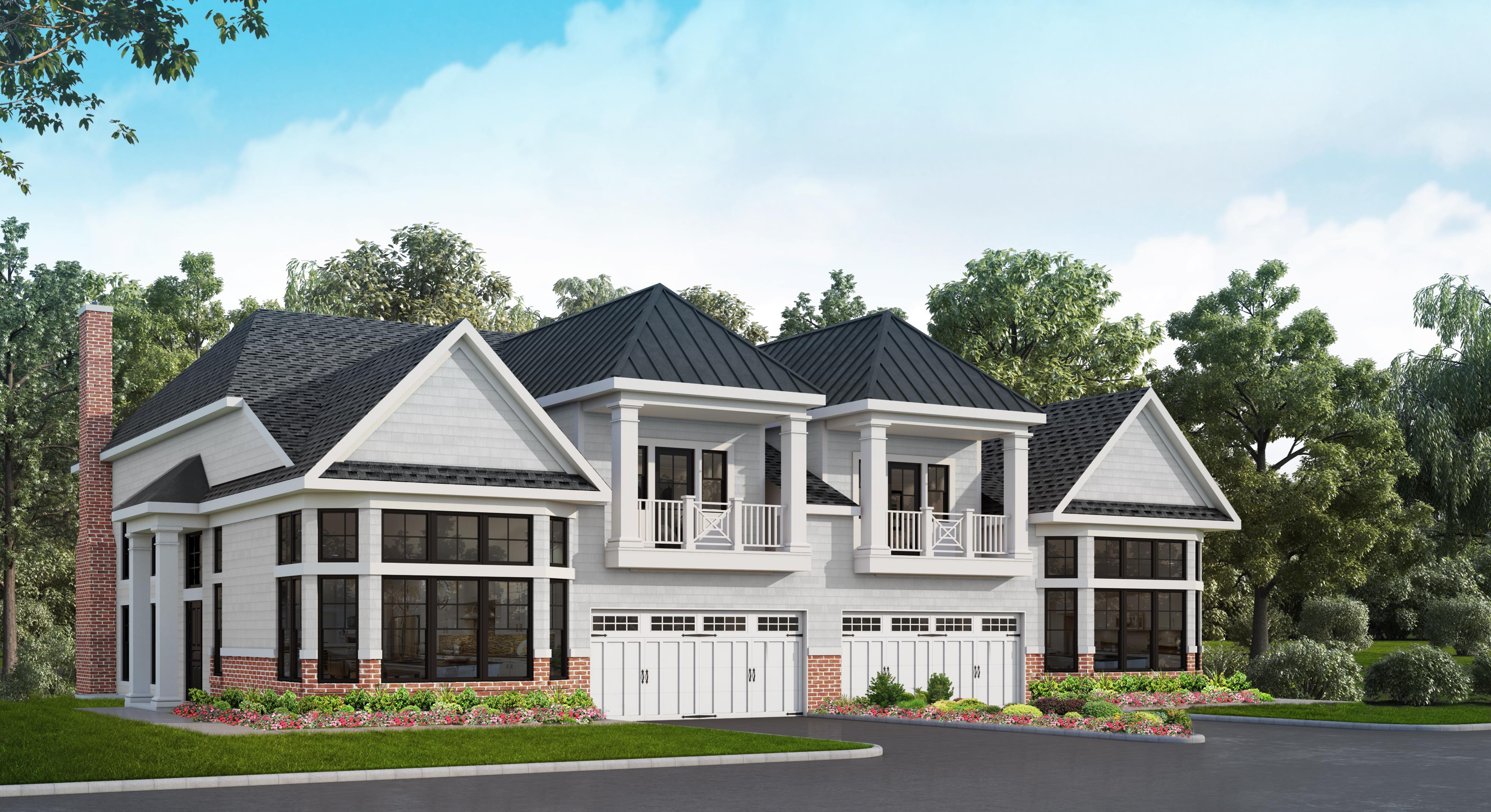 Exterior featured in the Madison By Beechwood Homes in Nassau-Suffolk, NY