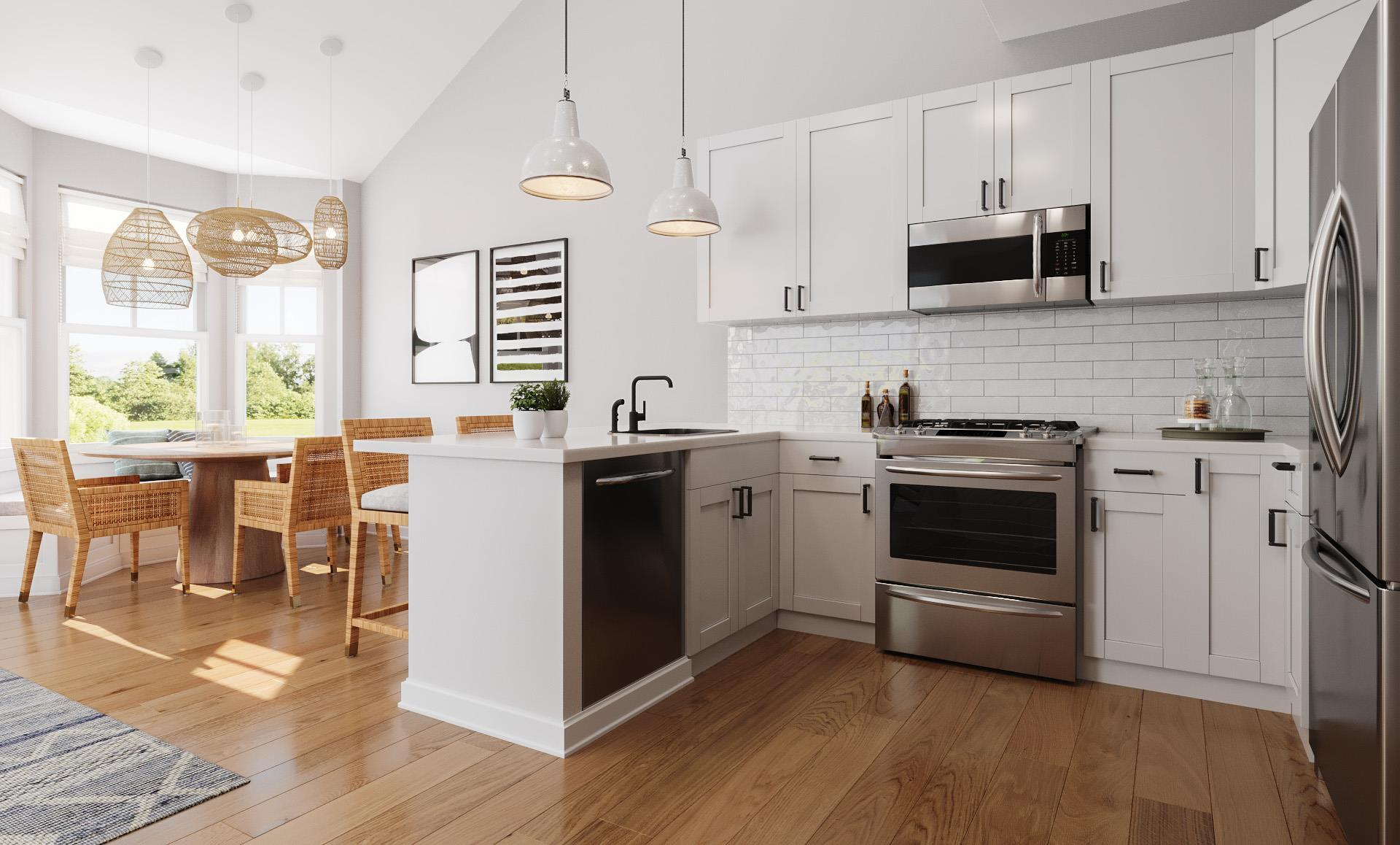 Kitchen featured in The Barrett By Beechwood Homes in Nassau-Suffolk, NY
