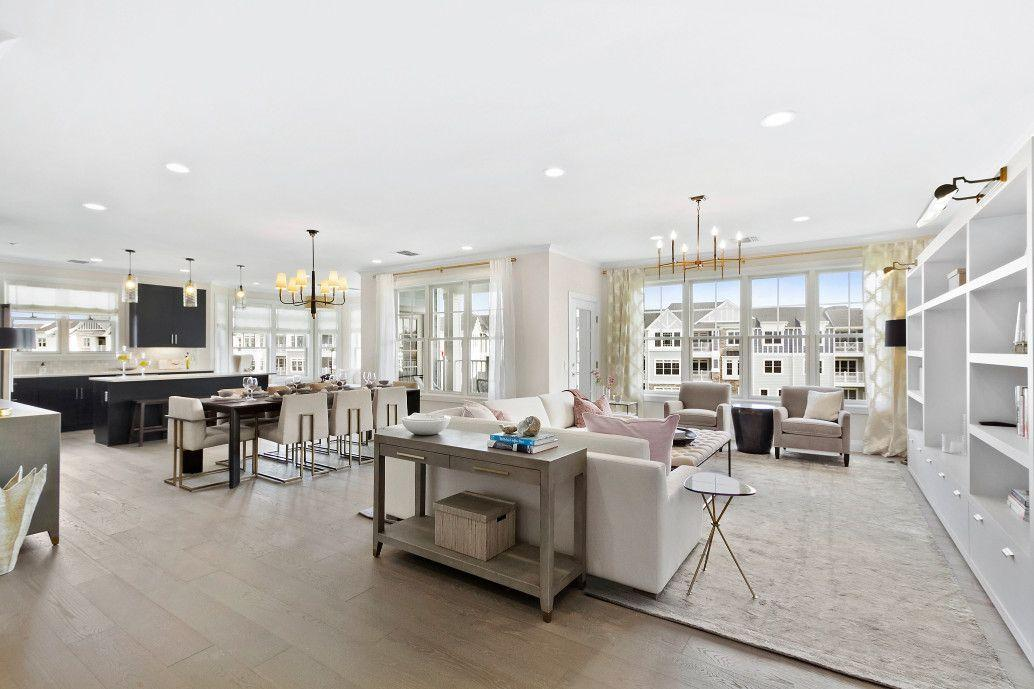 Living Area featured in the Dorchester By Beechwood Homes in Nassau-Suffolk, NY