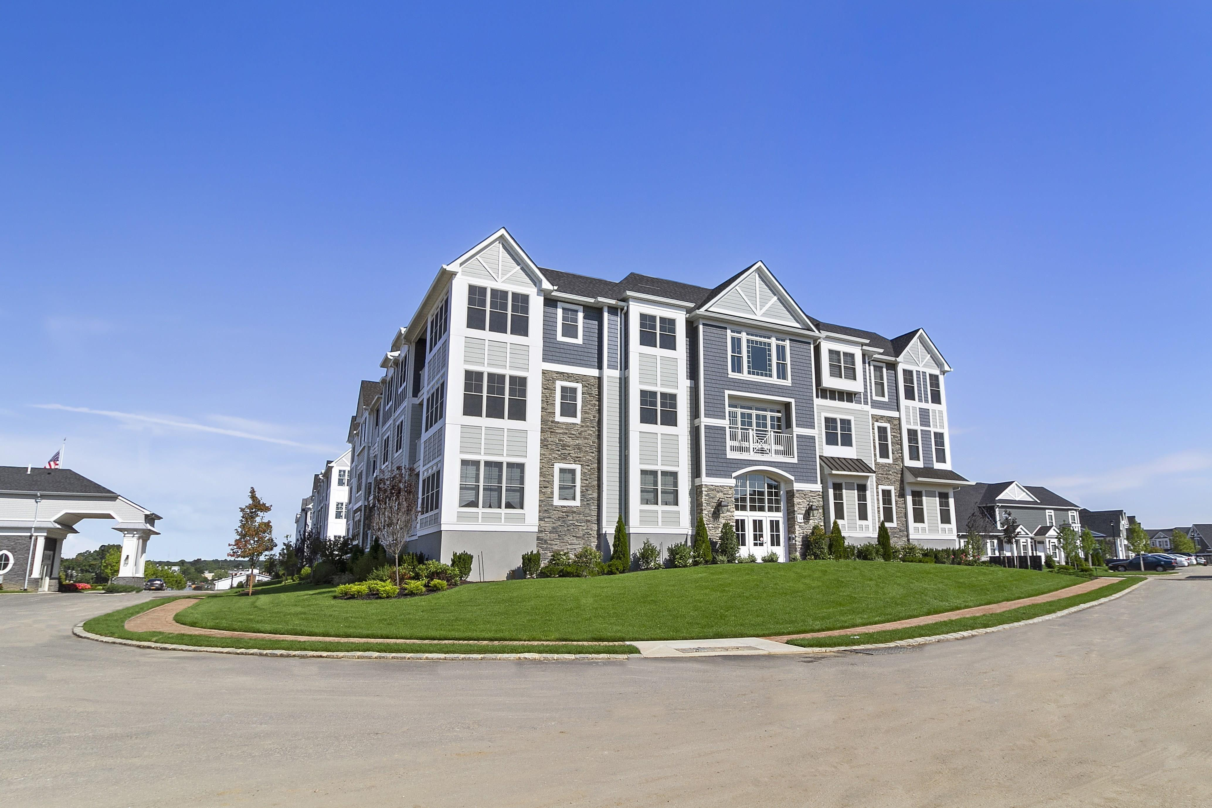 Exterior featured in the Dorchester By Beechwood Homes in Nassau-Suffolk, NY