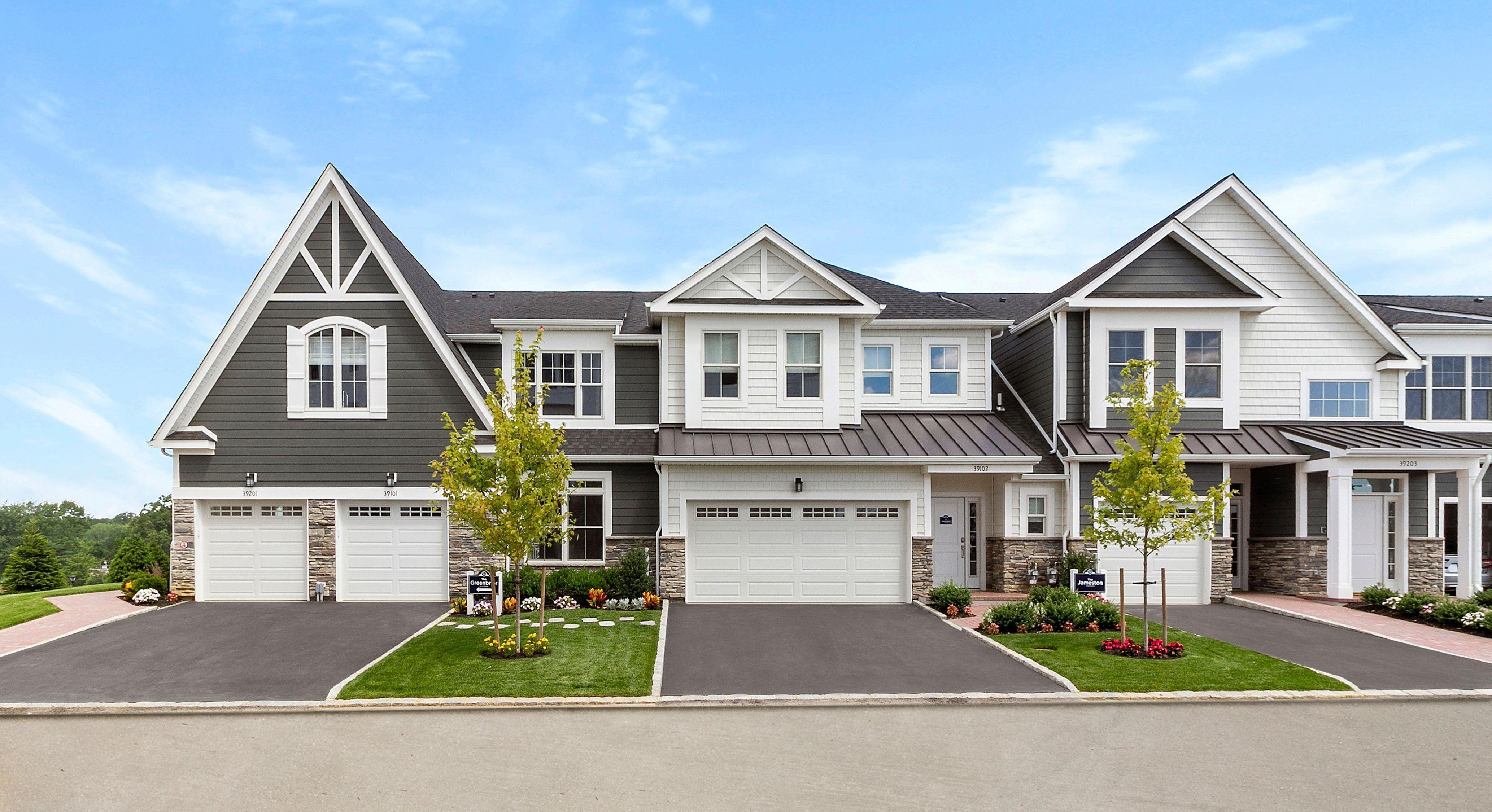 Exterior featured in the Greenbrier By Beechwood Homes in Nassau-Suffolk, NY