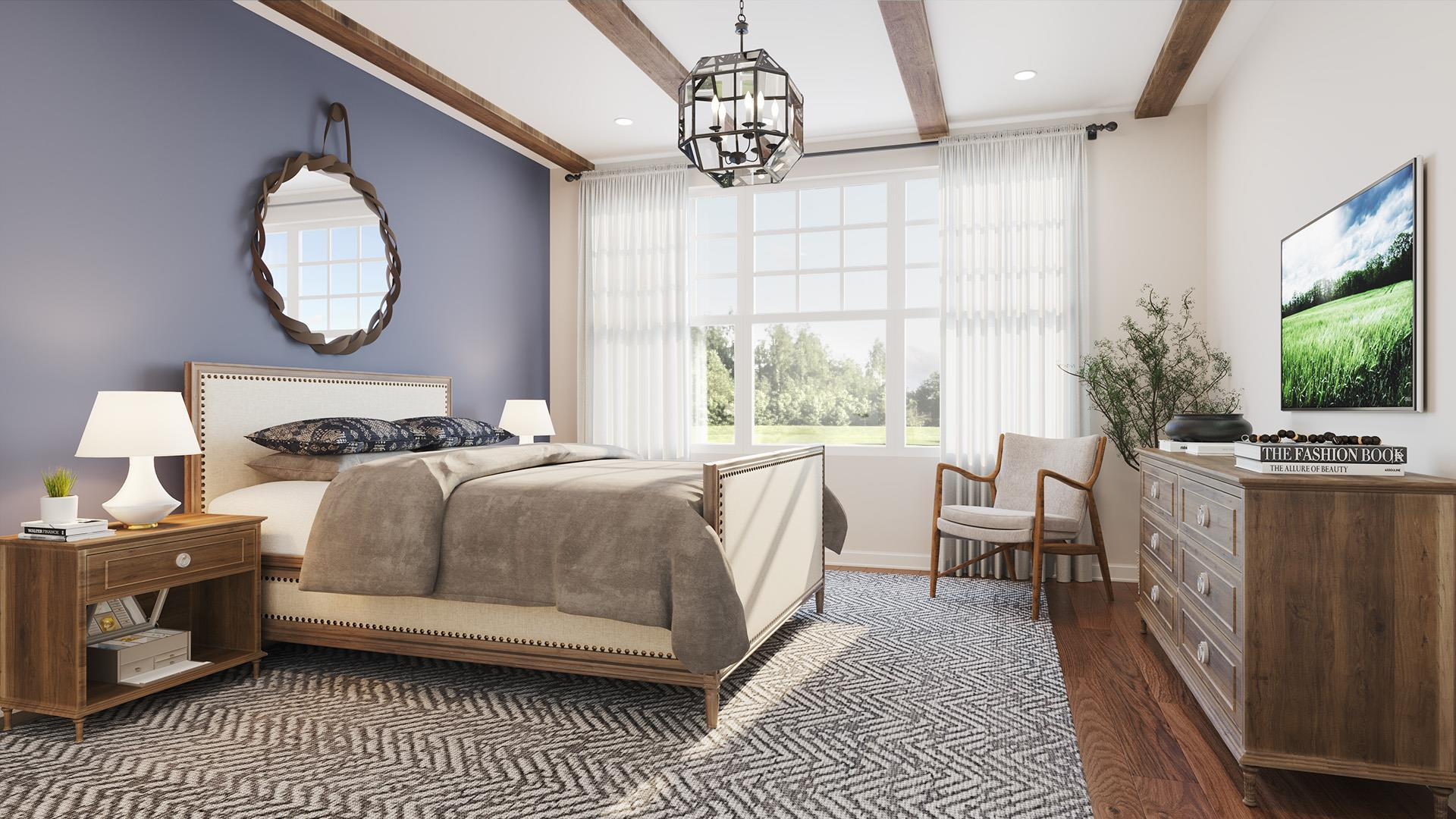 Bedroom featured in The Ashwood By Beechwood Homes in Nassau-Suffolk, NY
