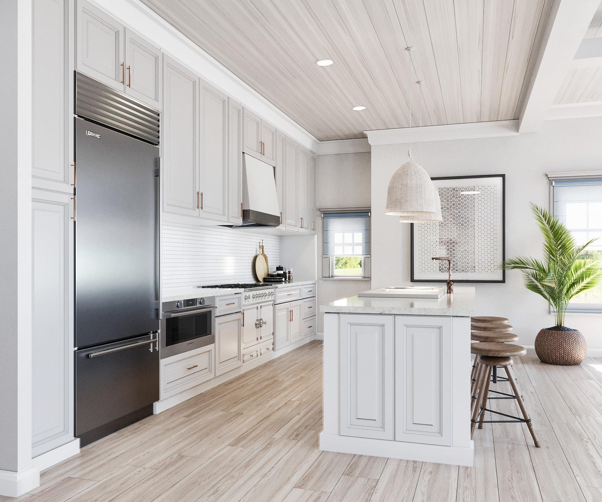 Kitchen featured in the Villa C2 By Beechwood Homes in Nassau-Suffolk, NY