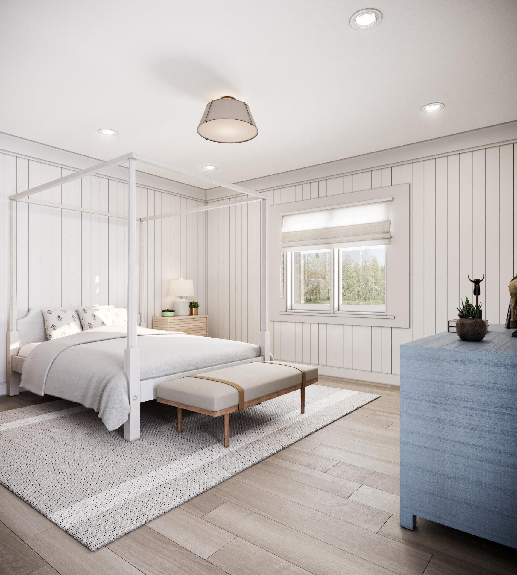 Bedroom featured in the Villa C2 By Beechwood Homes in Nassau-Suffolk, NY