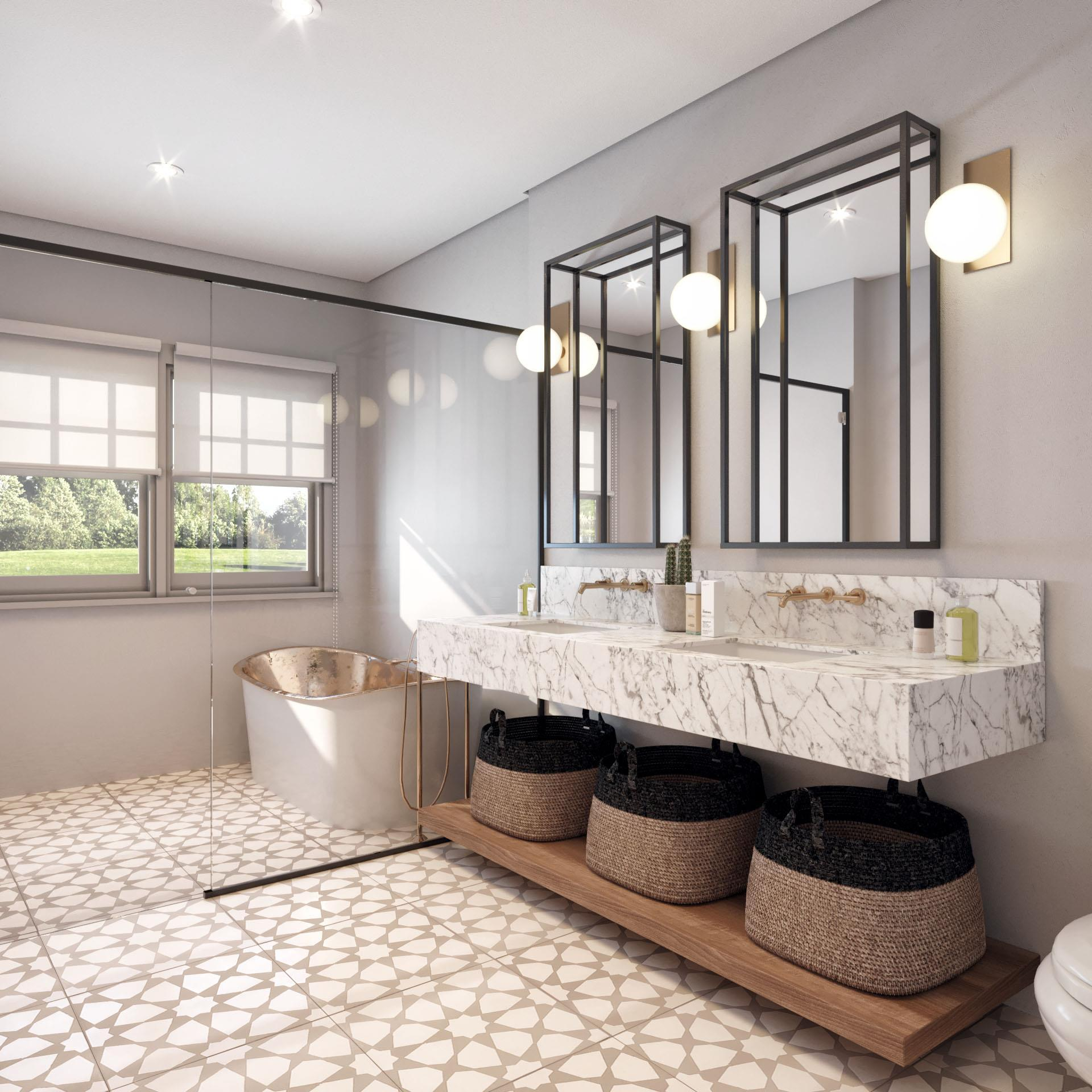 Bathroom featured in the Villa C2 By Beechwood Homes in Nassau-Suffolk, NY